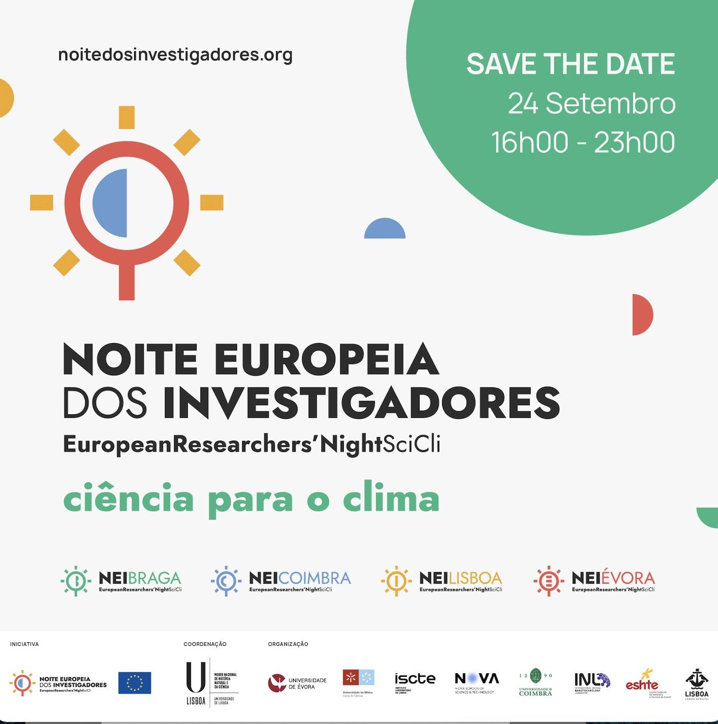 Noite Europeia dos Investigadores | 24 de setembro
