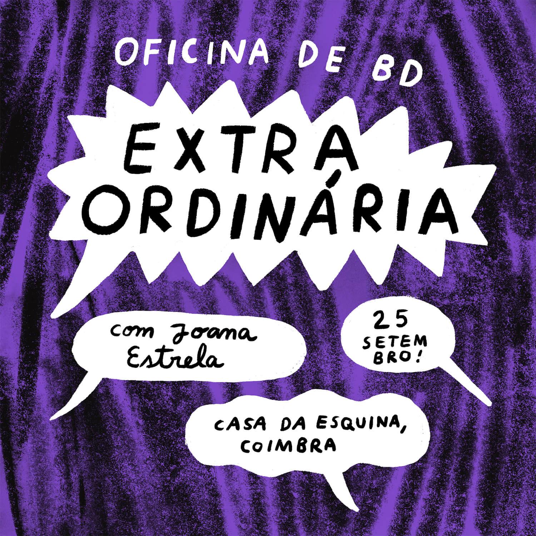 Oficina Extraordinária | Casa da Esquina | 25 de setembro